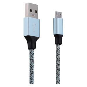 Volkano Fashion Series Micro USB Cable 1.8m Assorted Colours