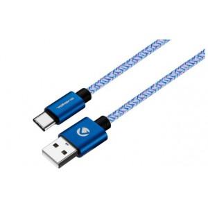Volkano Fashion Series Micro USB Cable - 1.8m - Sky Blue
