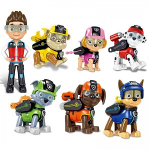 Paw patrol Figurines (set of 7)