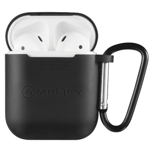 Amplify Buds Series True Wireless Earphones with Silicone Accessories - Black