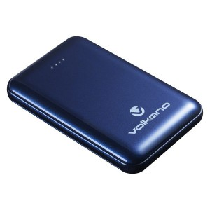 Volkano Nano Series 5000 mAh Li-Po Powerbank - Blue