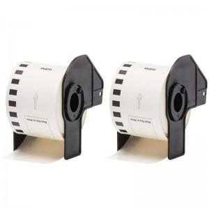 Generic Brother DK22251 Standard Address Labels 62mm × 15.24mm (2 pack)