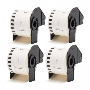 Generic Brother DK22251 Standard Address Labels 62mm × 15.24mm (4 pack)