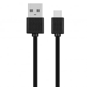 Rocka Recharge-C Series 2A Wall Charger with Type-C Cable - Black