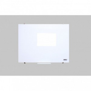 Parrot Glass Whiteboard Non-Magnetic (2400x1200mm)