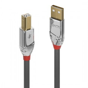 Lindy Cromo Line 3m USB 2.0 Type A to B Cable