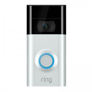 Ring Video Doorbell 2nd Gen - Satin Nickel