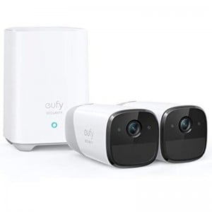 EUFY SECURITY eufyCam 2 HD 1080p Wireless Home Security Camera System IP67 Weatherproof Night Vision