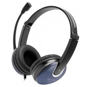 Microlab K290 Audiophile Headset W/Boom Mic - Black