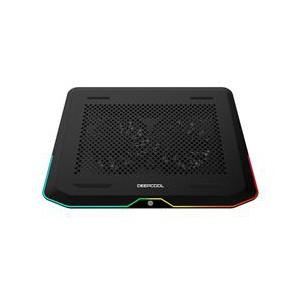 """Deepcool N80RGB 17.3"""" Gaming Notebook Cooler W/RGB Black"""