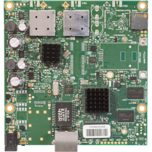 MikroTik RouterBOARD 911G-5HPacD with 1 Gb LAN Port, 5.X GHz ac Radio and 2 MMCX Connectors
