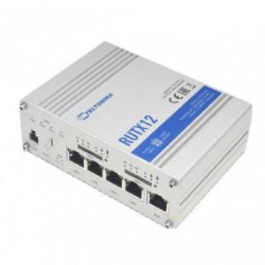 Teltonika Industrial LTE Cat.6 Wi-Fi IoT Router, Quad-core ARM Cortex A7, ac Wave2 Wi-Fi, B