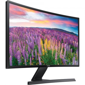 "Samsung S24E510C 23.5"" Curved LED Monitor (Glossy Black)"