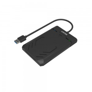 "Unitek DiskGuard Raiden 2.5"" SATA III 2.5"" HDD/SSD Hard Disk Enclosure"