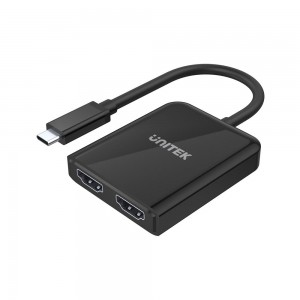 Unitek 4K 60Hz USB-C to HDMI 2.0 Adapter with MST Dual Monitor