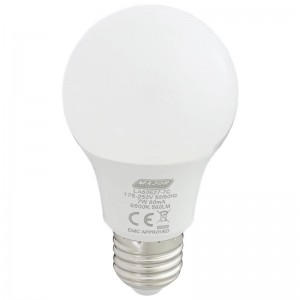 Major Tech - 7W LED E27 Pack of 10 Cool White Lamps (LA60E27-7C)
