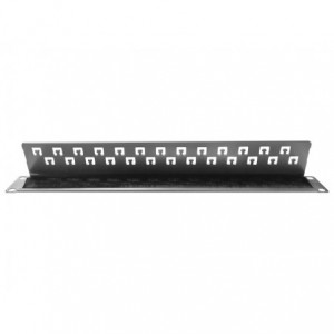 Linkbasic 19-inch Rack Mount Silver Brush Panel