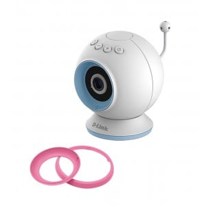 D-Link DCS-825L HD WiFi Baby Camera - Temperature Sensor, Personalize Audio,