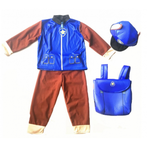 Paw Patrol Kids Dress Up Costume - Chase