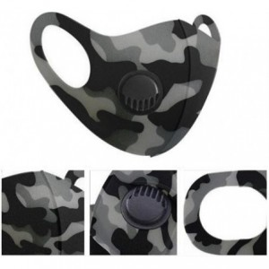 Casey Reusable 3D Structured Unisex Dual Layer Face Masks With Breath Valve