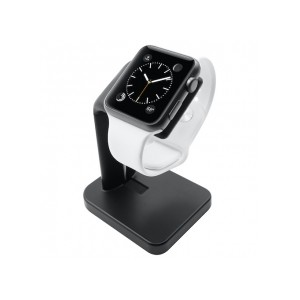 Macally - Apple Watch Stand - Black
