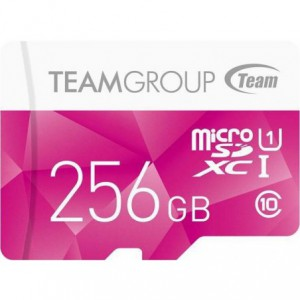 Team 256GB Micro SDXC UHS-1 Class-10 Memory Card