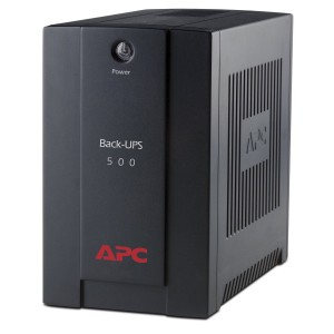 APC Back-UPS BX500CI 300 Watts / 500 VA black with AVR + Power conditioning UPS