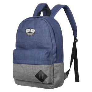 """Volkano 2D 15.6"""" Laptop Backpack - Navy/Grey"""