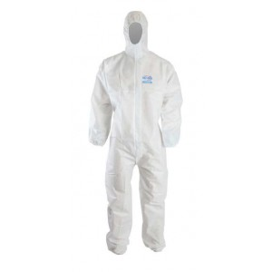 Clinic Gear Disposable Coverall Extra Large - White