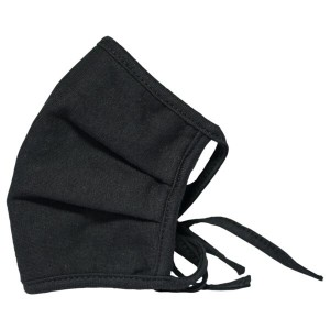 Clinic Gear 3 Ply Pleated Mask – Black