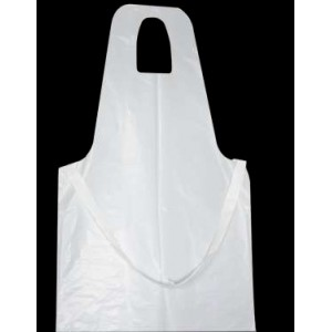 Clinic Gear Disposable Apron - 25 Micron (Packet of 50)
