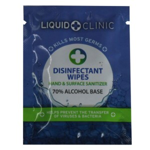 Liquid Clinic - Sachet Wipe Single