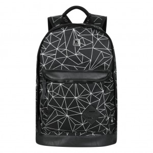 Quest Mapped Backpack - Black