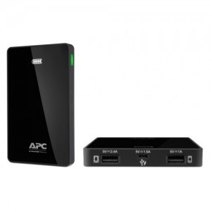 APC Mobile Power Pack/ 5000mAh Li-polymer/ Black (
