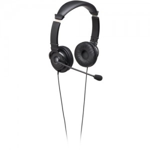 Kensington Hi-Fi Headphones with Mic -  Black