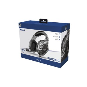 Trust GXT 488 Forze-G PS4 Gaming Headset - Grey