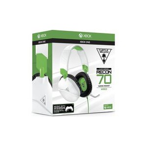 Turtle Beach - Recon 70X Wired Gaming Headset - White/Green (Xbox One)