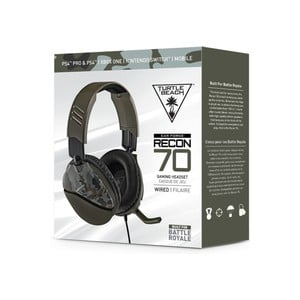 Turtle Beach - Recon 70 Ear Force Wired Gaming Headset - Green Camo