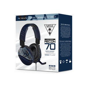 Turtle Beach - Recon 70 Ear Force Wired Gaming Headset - Blue Camo