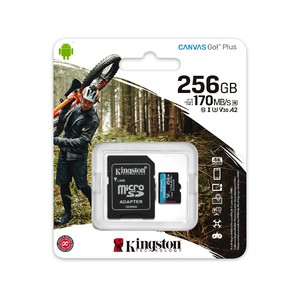 Kingston Technology - Canvas Go! Plus - UHS-I microSDXC Memory Card with SD Adapter