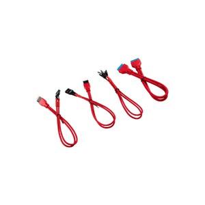 Corsair Premium Sleeved Front Panel Extension Kit 30cm — Red