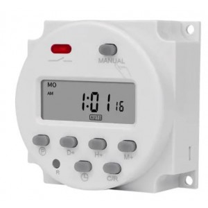 CN101A Digital Microcomputer 7 day Weekly Programmer Electronic Timer Switch