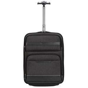 "Targus CitySmart 12-15.6"" Compact Under-Seat Roller - Black/Grey"