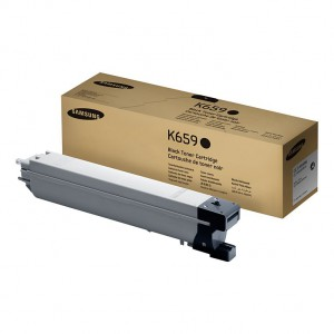 Samsung CLT-K659S Black 20000 Page Yield Toner Cartridge for CLX-8650ND and CLX-8640ND CLTK659S