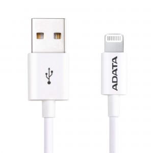 Adata Sync & Charge Lightning Cable - White
