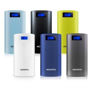 Adata P20000D Mobile Battery Power Bank 20000mAh - Silver