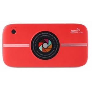 Remax RPP-91 Red Camera 10000mAh Portable Power Bank
