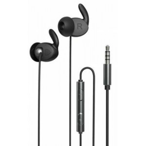 Remax RM-625 Black Metal Stereo In-ear Earphone with Mic