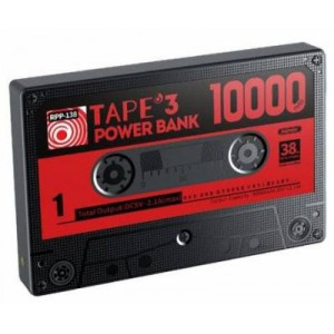 Remax Tape Series Black 10000mAh Power Bank