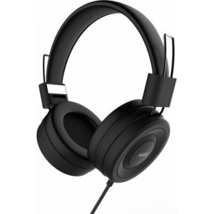 Remax RM-805 Wired Headphone 1.2m Black with 3.5mm Connector
